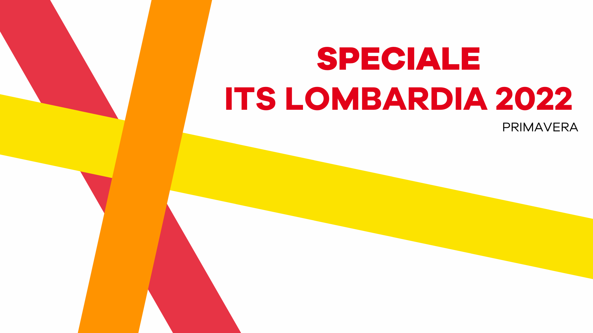 Speciale ITS Lombardia 2022 Online