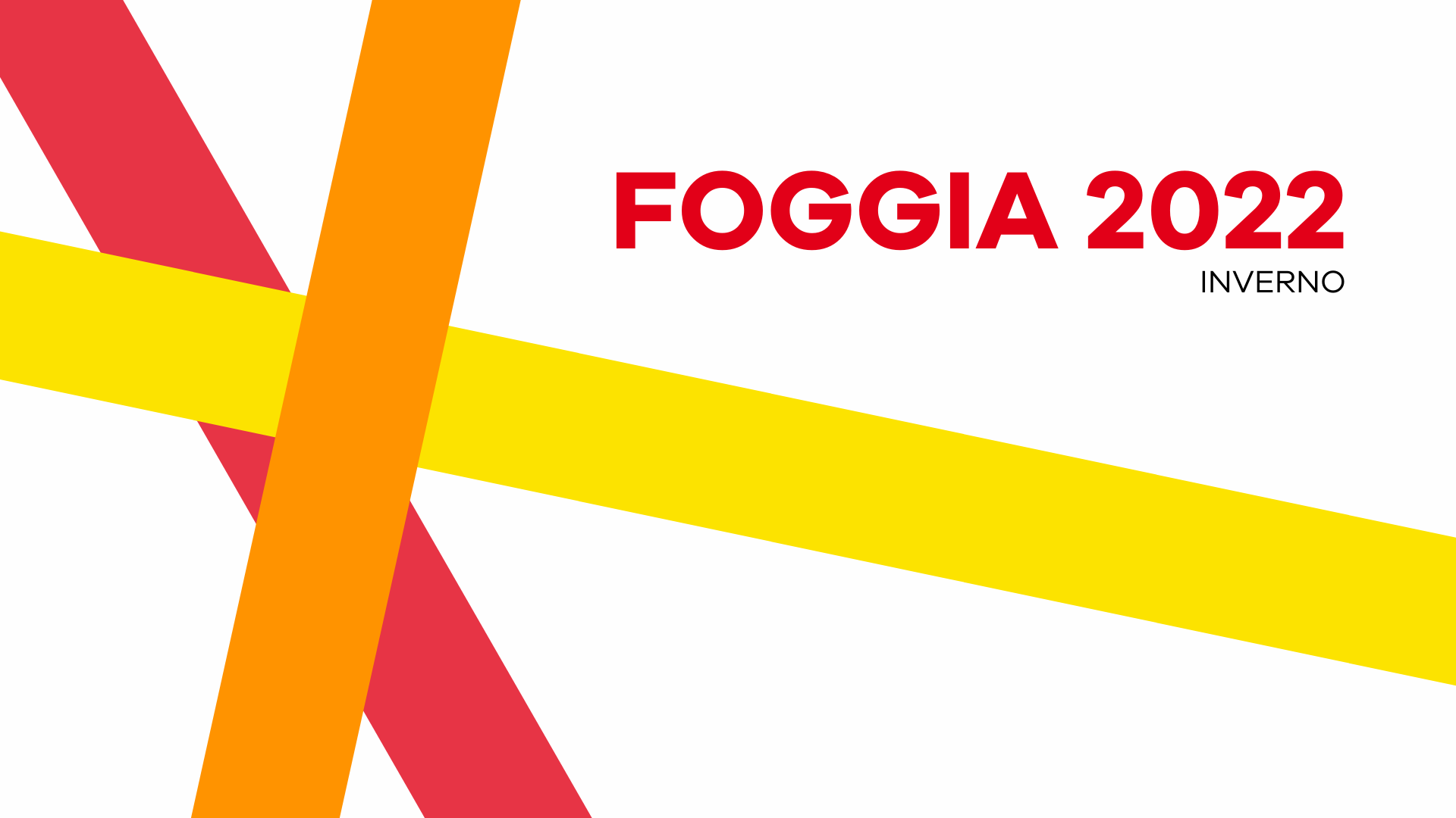 Foggia 2022 Online